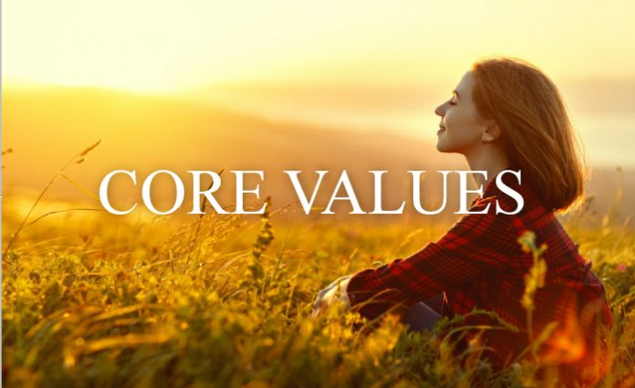Your personal core values
