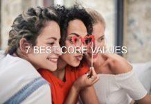 7 Best personal core values