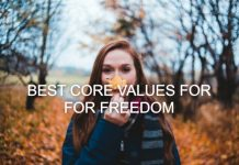 Best core values for personal freedom