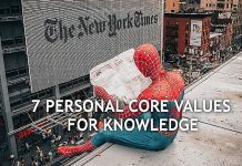 Knowledge and core values