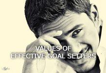Goal setting core values