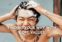 your Why & core values