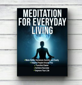 Meditation Book Cover personal core values