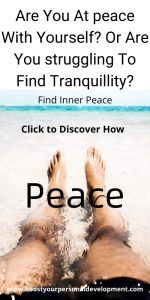 inner peace and values